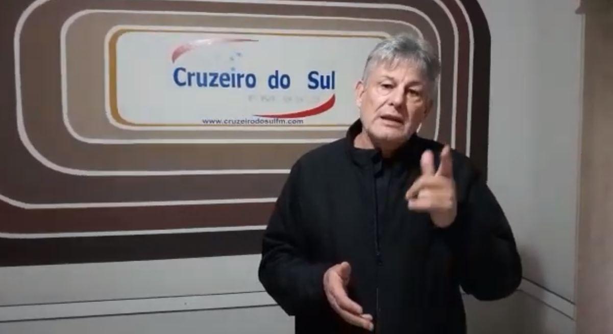 """Após saber da Demissão da Rádio Ipiranga, Vereador Gaiola diz: """" Quem menos perdeu foi o Adelar. Quem perdeu, fomos nós"""""""