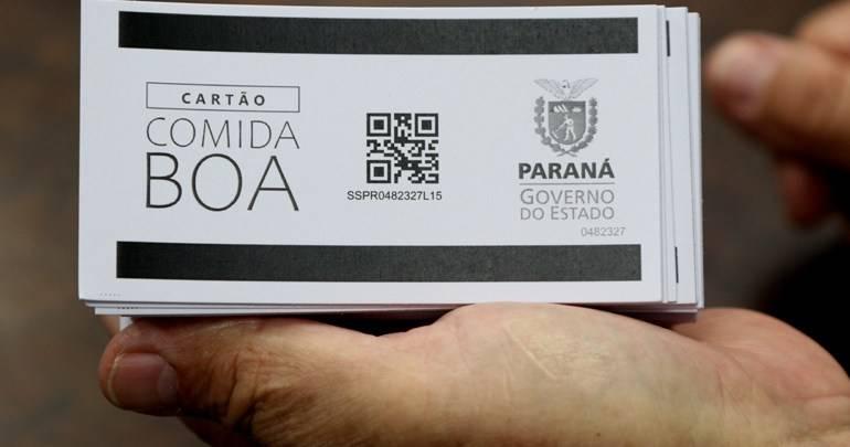 Porto Amazonas: Cartão Comida Boa Veja onde retirar o seu