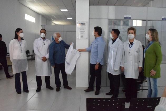 Prefeitura de Guarapuava inaugura Farmácia Municipal