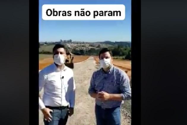 """""""PG não para"""", Rangel destaca retomada das obras no município"""