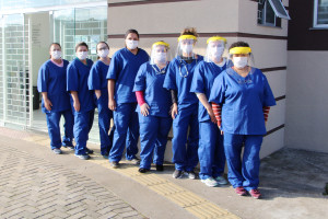 Servidores da Saúde recebem novos EPIs recomendados para o enfrentamento ao Covid-19