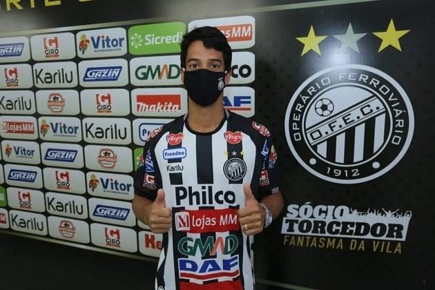 Ex-jogador do São Paulo, meia Thomaz se apresenta ao Operário Ferroviário