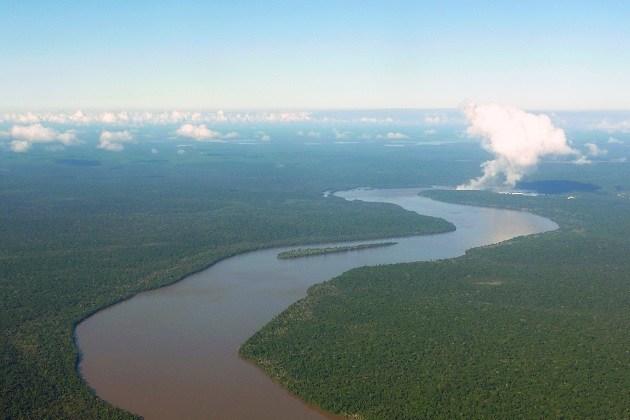 Rio Iguaçu, o maior do Paraná, registra nível mais baixo desde 1931