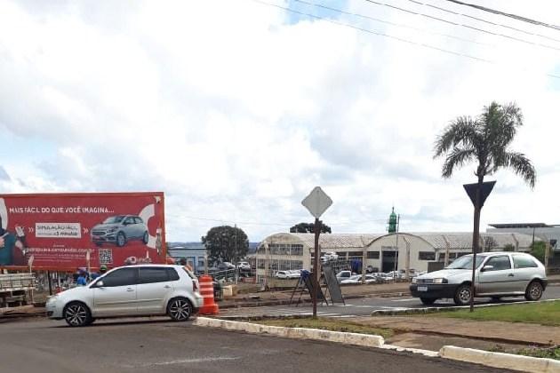 Região do Trevo do Índio, em Guarapuava, recebe melhorias