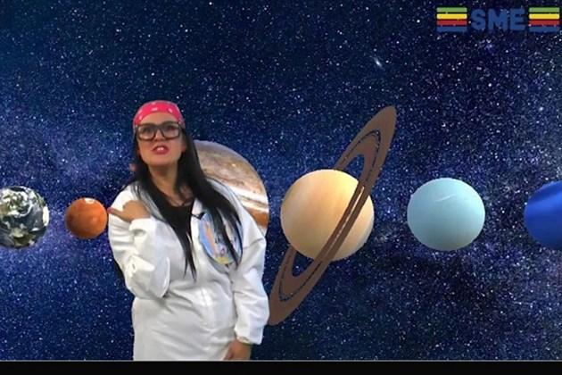 Vídeo: professora de PG apresenta aula sobre o Universo de forma lúdica; assista!