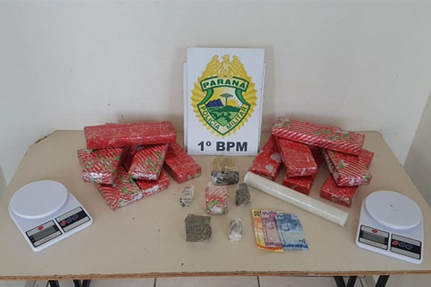Vídeo: Três pessoas são presas acusadas de tráfico de drogas em Ponta Grossa