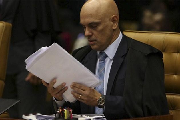 Relator de inquérito das fake news, ministro Alexandre de Moraes vota pela legalidade do processo