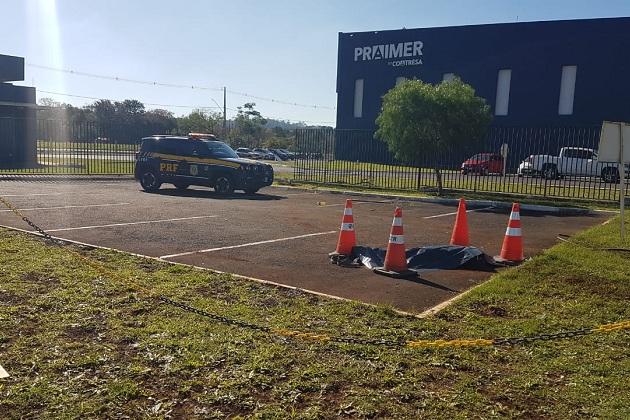 Motorista morre atropelado pelo próprio caminhão no Distrito Industrial de PG