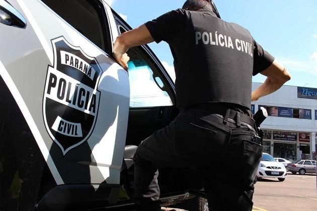 Polícia Civil de Jaguariaíva prende acusado de agredir a ex-companheira