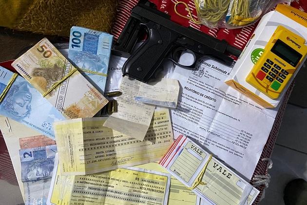 Polícias Civil e Militar realizam ação conjunta contra quadrilha de estelionatários