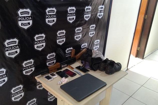 Polícia Civil de Carambeí prende suspeito de cometer o primeiro homicídio de 2020 do município