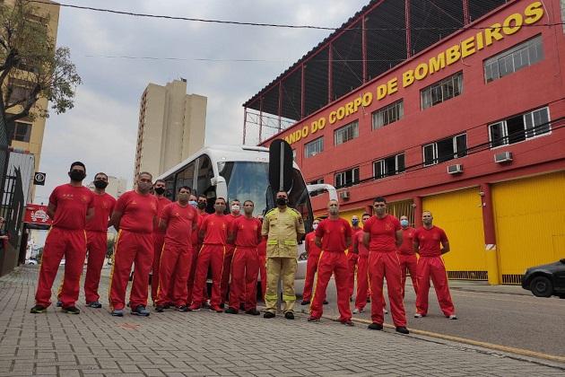 Ponta Grossa envia bombeiros para combate a incêndios no Pantanal
