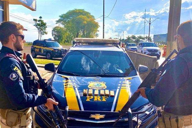 Em ações de final de semana, PRF causa prejuízo de R$5 milhões ao crime organizado