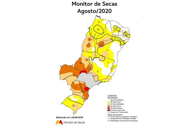 Paraná passa a integrar o Monitor de Secas e aumenta o controle da condição hídrica do estado