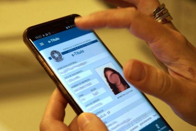 Aplicativo E-Título pode ser usado como documento oficial para votar