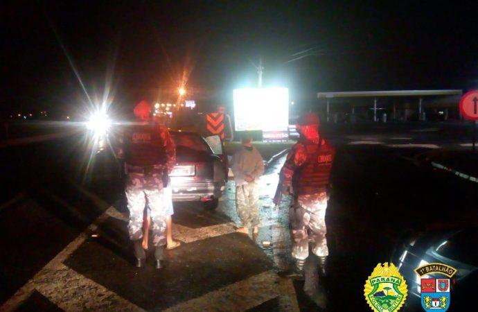 Equipes da Operação de Rondas Ostensivas Preventivas abordam 47 pessoas na noite deste sábado (3) em PG