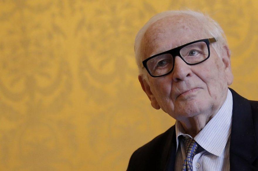 Estilista Pierre Cardin morre aos 98 anos