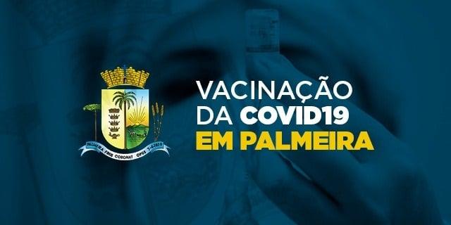 Primeira dose da vacina contra Covid-19 já foi aplicada em 563 pessoas em Palmeira