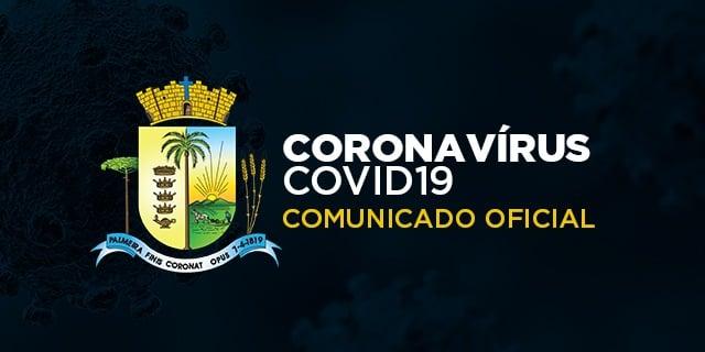 COMUNICADO | Decreto com medidas para enfrentamento do Covid-19 é prorrogado até 20 de fevereiro