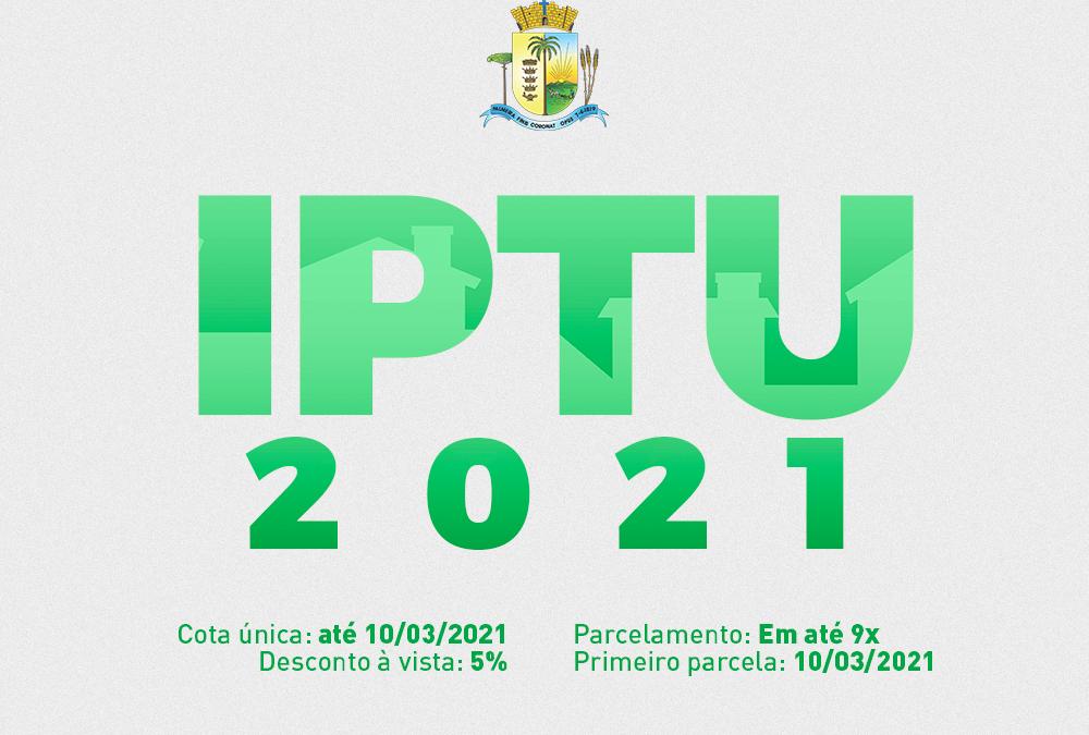 IPTU 2021 já está disponível para pagamento