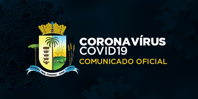 URGENTE| Secretaria de Saúde registra óbito por Covid-19 e confirma mais 32 casos positivos no município