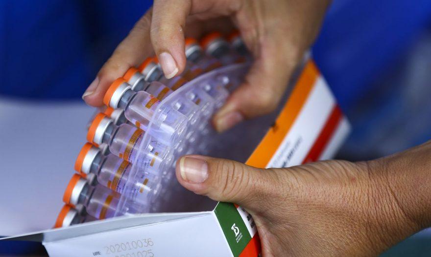 Butantan entrega mais um milhão de doses da CoronaVac nesta segunda (22)