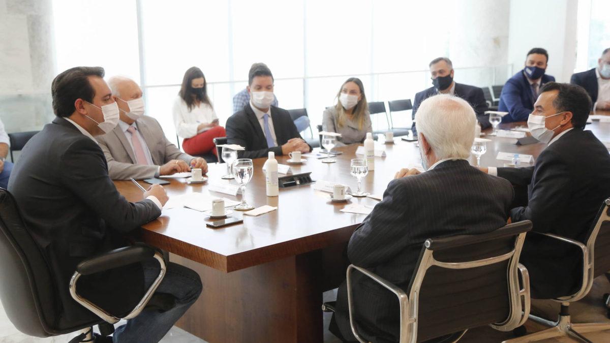 Governador se reúne com Poder Judiciário para discutir cenário da pandemia
