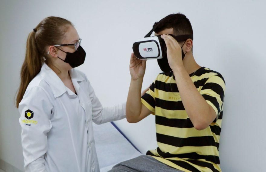 Projeto de realidade virtual auxilia pacientes em recuperação