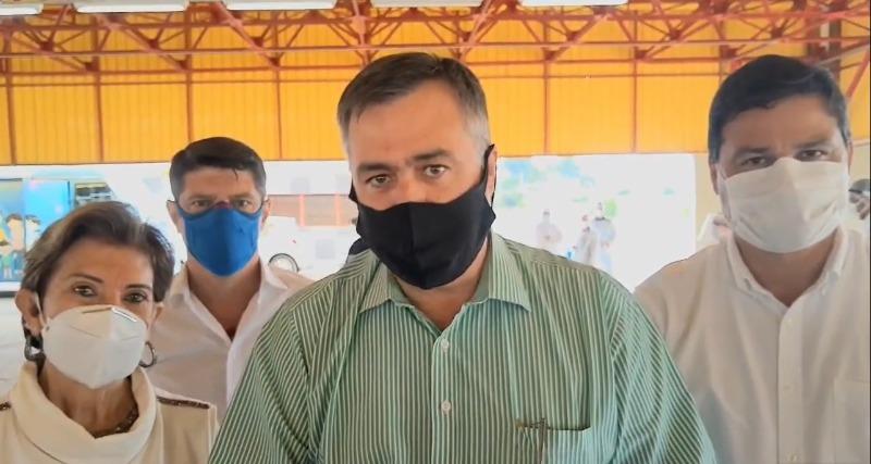 """VÍDEO: """"É uma luta muito grande"""", diz Beto Preto sobre pandemia, durante visita a PG"""