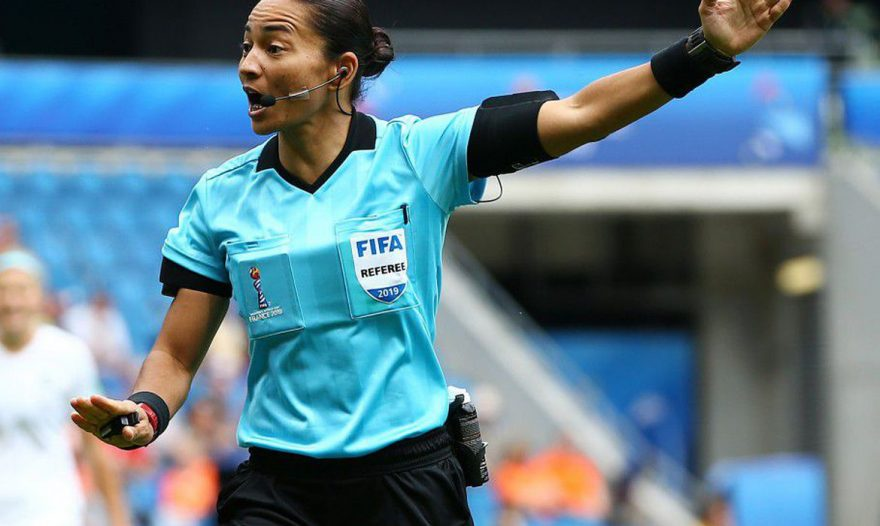 Paranaense, Edina Alves será única juíza de campo do Brasil na Olimpíada de Tóquio