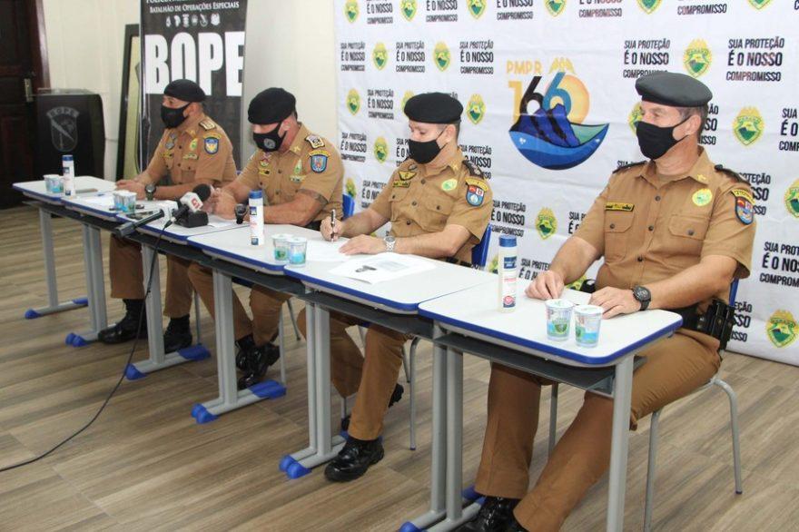 Operação da PM desarticula grupo criminoso no Litoral do Paraná