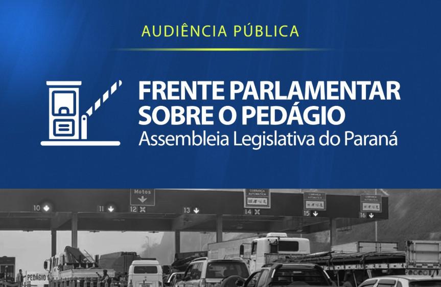 Frente Parlamentar sobre o Pedágio ouve demanda da região de Ponta Grossa nesta quinta-feira