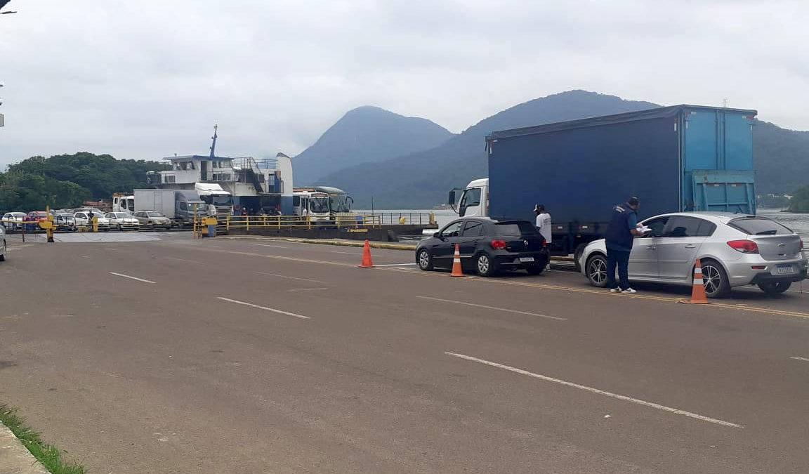 CGE Itinerante ouve opinião de usuários sobre funcionamento do ferry-boat