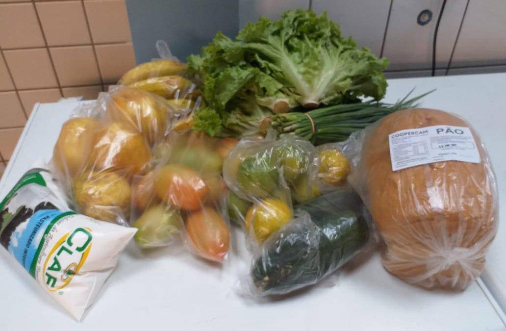 Colégios entregam produtos da agricultura familiar nesta sexta-feira