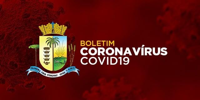 URGENTE| Palmeira registra novo óbito por Covid-19 e confirma três casos