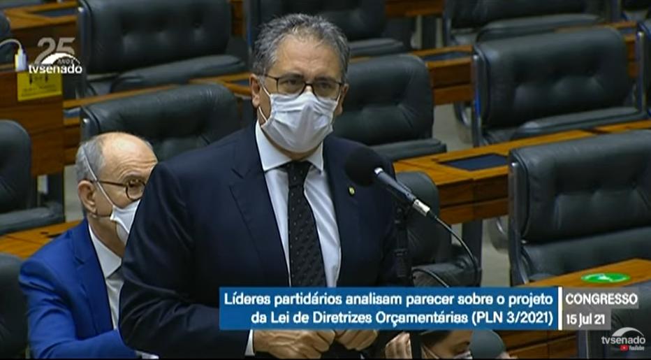 Sessão do Congresso: deputados analisam projeto da LDO
