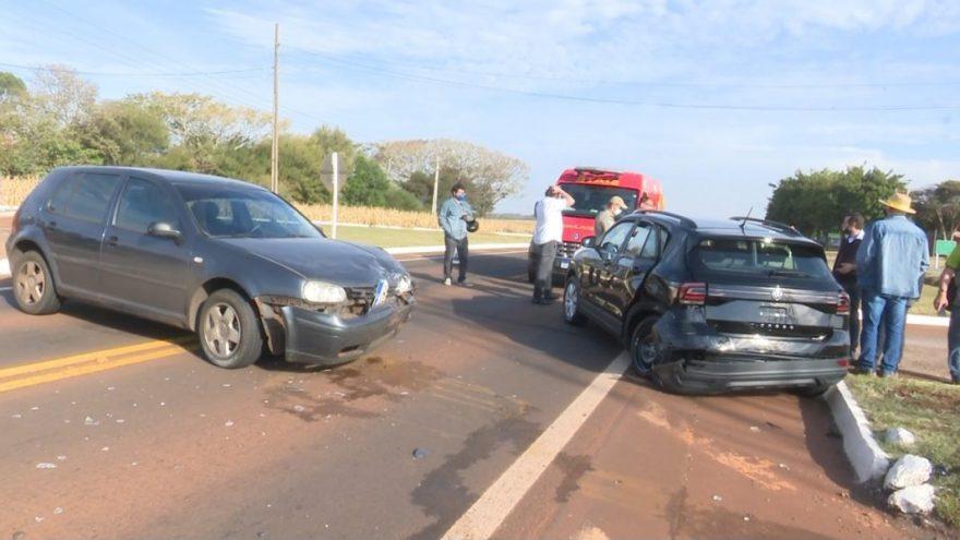 Carro em teste drive se envolve em acidente em rodovia do Paraná