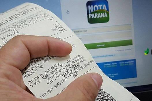 Nota Paraná libera R$ 24,4 milhões em créditos e promove sorteio nesta segunda (9)