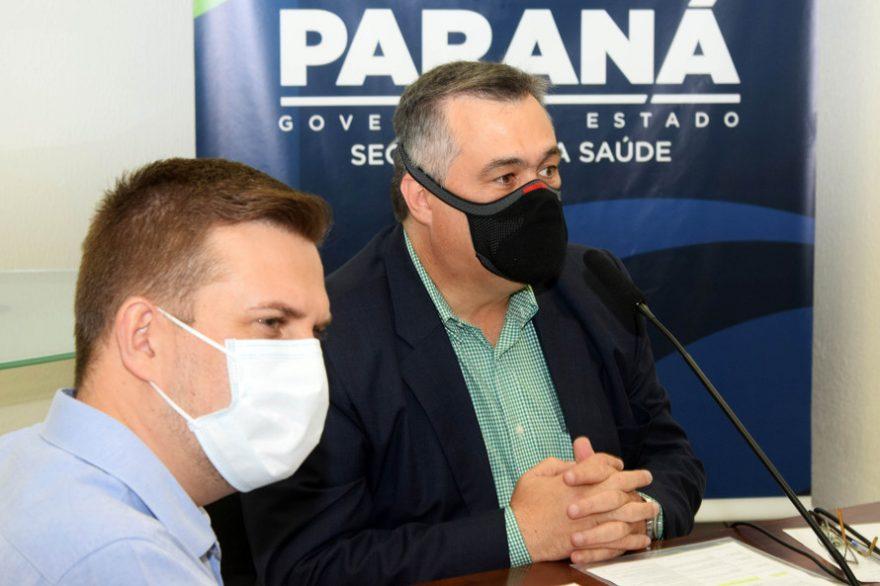 Paraná recebe equipe do Ministério da Saúde para debater ações realizadas no contexto da pandemia
