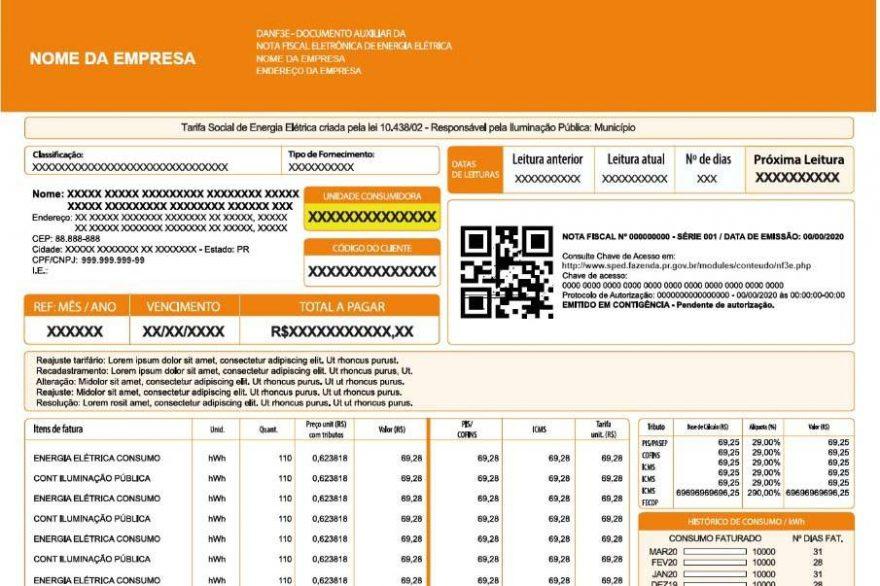 Receita Estadual lança sistema para emissão da nova Nota Fiscal de Energia Elétrica