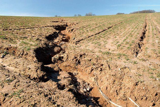Pesquisas quantificam prejuízos causados no solo pela erosão hídrica